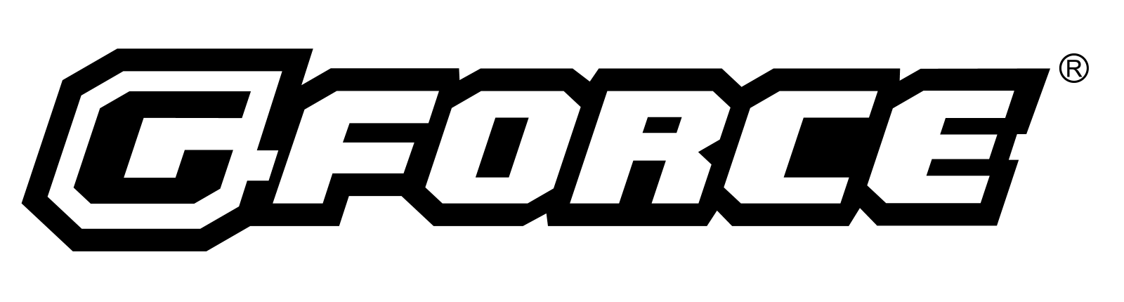 G FORCE LOGO Use On Bright Background
